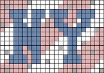 Alpha pattern #81710