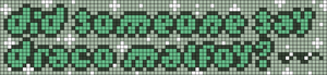 Alpha pattern #81714