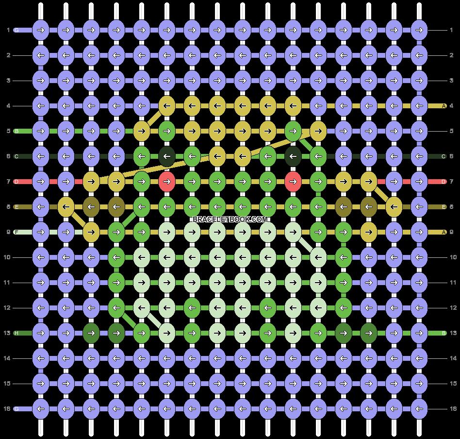 Alpha pattern #81716 pattern