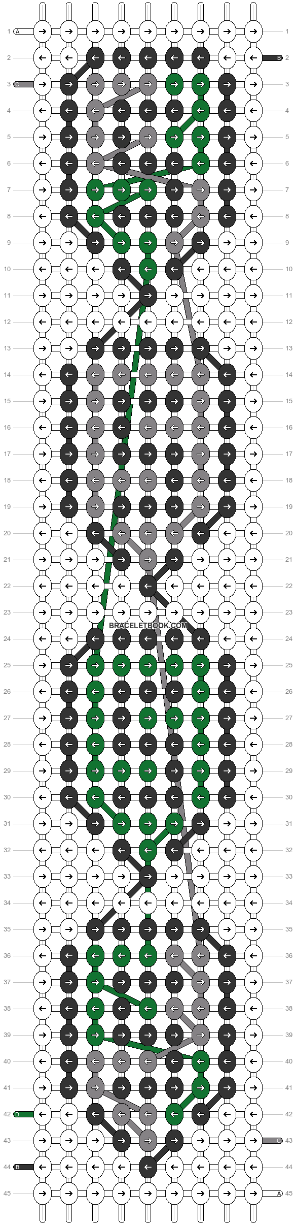 Alpha pattern #81721 pattern