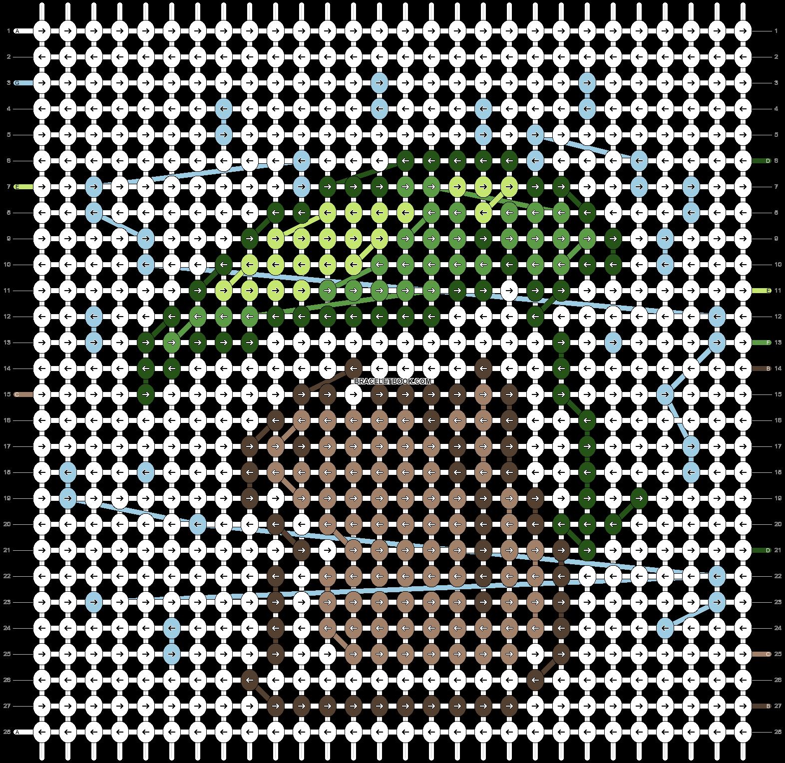 Alpha pattern #81756 pattern