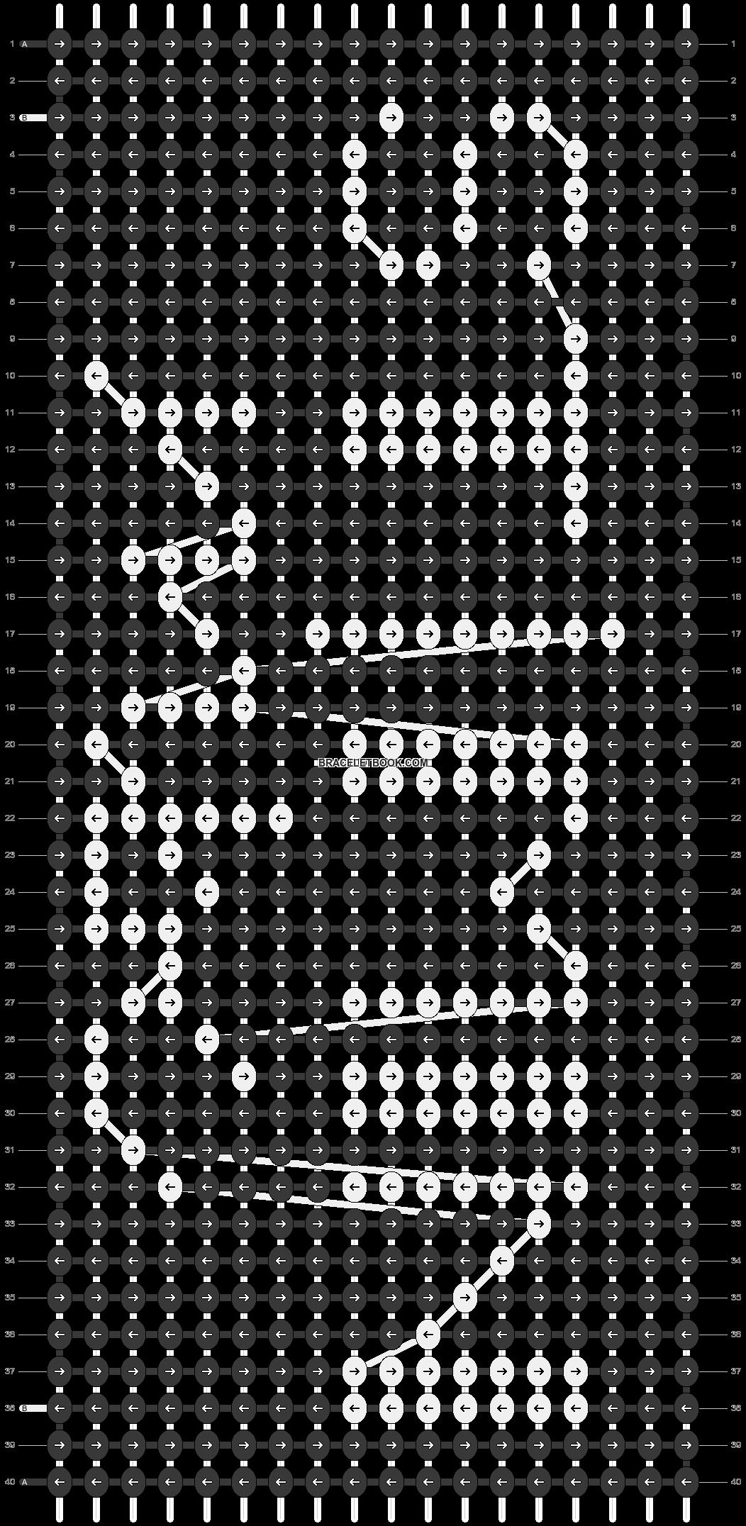 Alpha pattern #81837 pattern