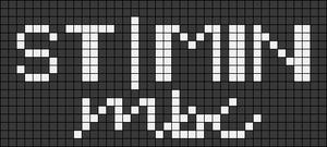 Alpha pattern #81837