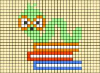Alpha pattern #81876