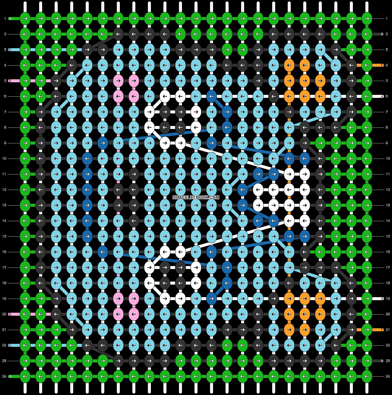 Alpha pattern #81965 pattern