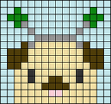 Alpha pattern #82000