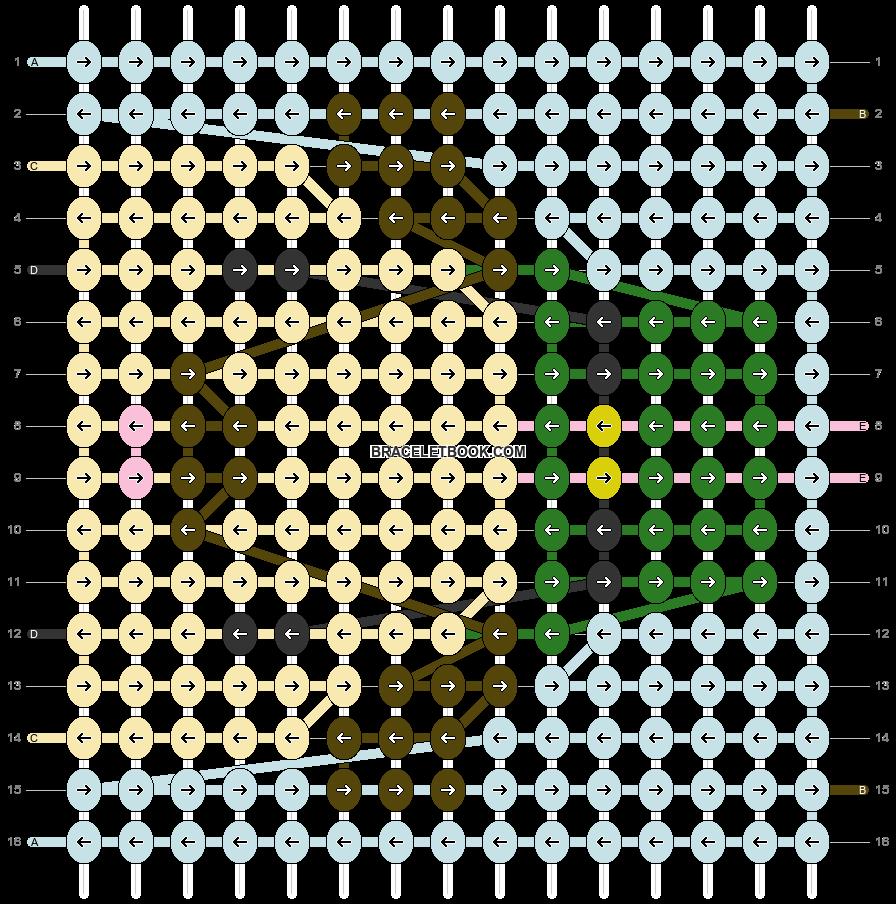 Alpha pattern #82001 pattern