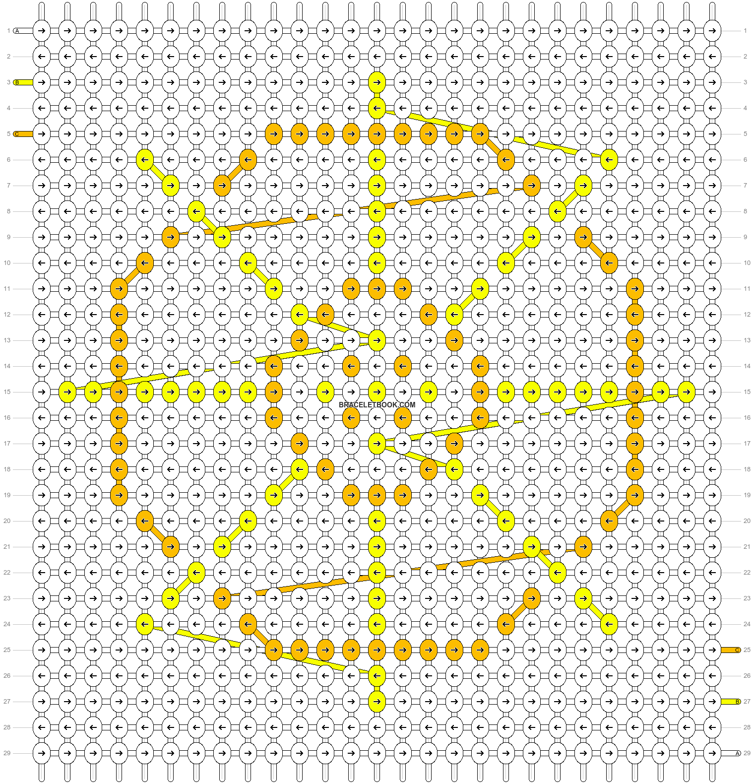 Alpha pattern #82003 pattern