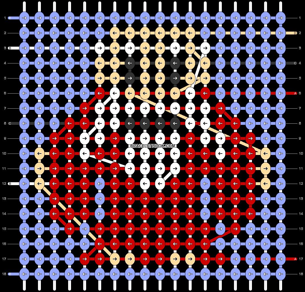 Alpha pattern #82036 pattern