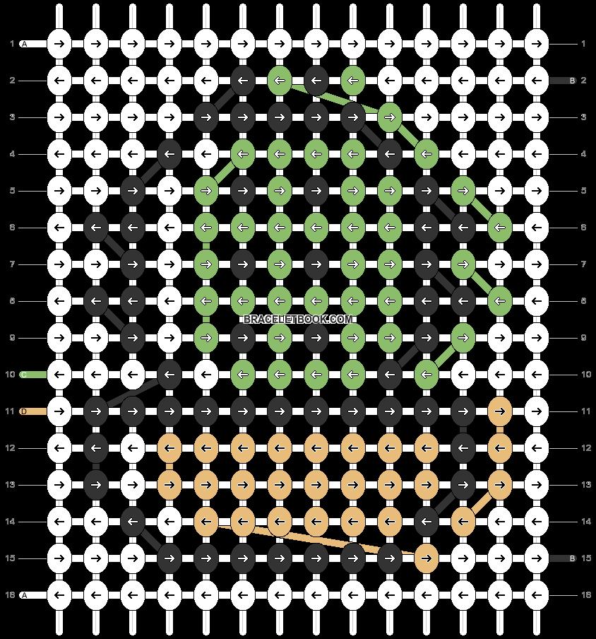 Alpha pattern #82043 pattern