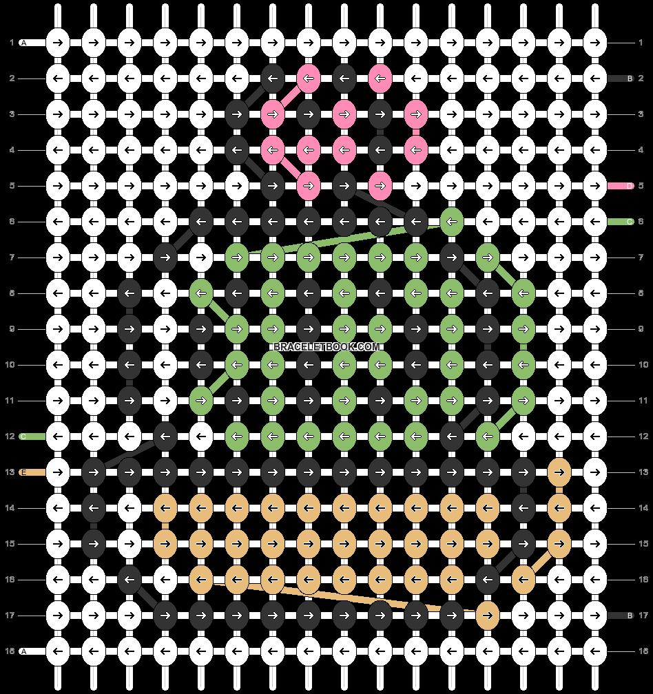 Alpha pattern #82045 pattern