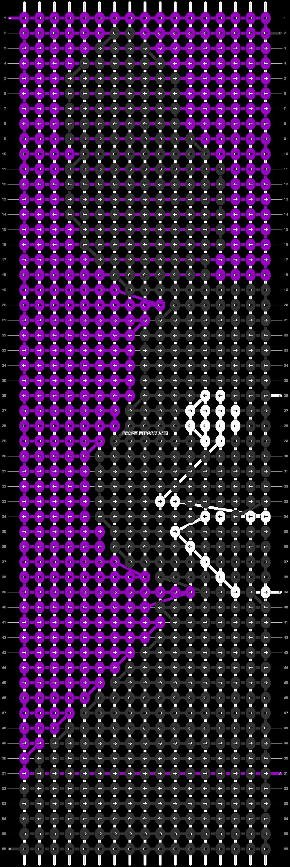Alpha pattern #82065 pattern