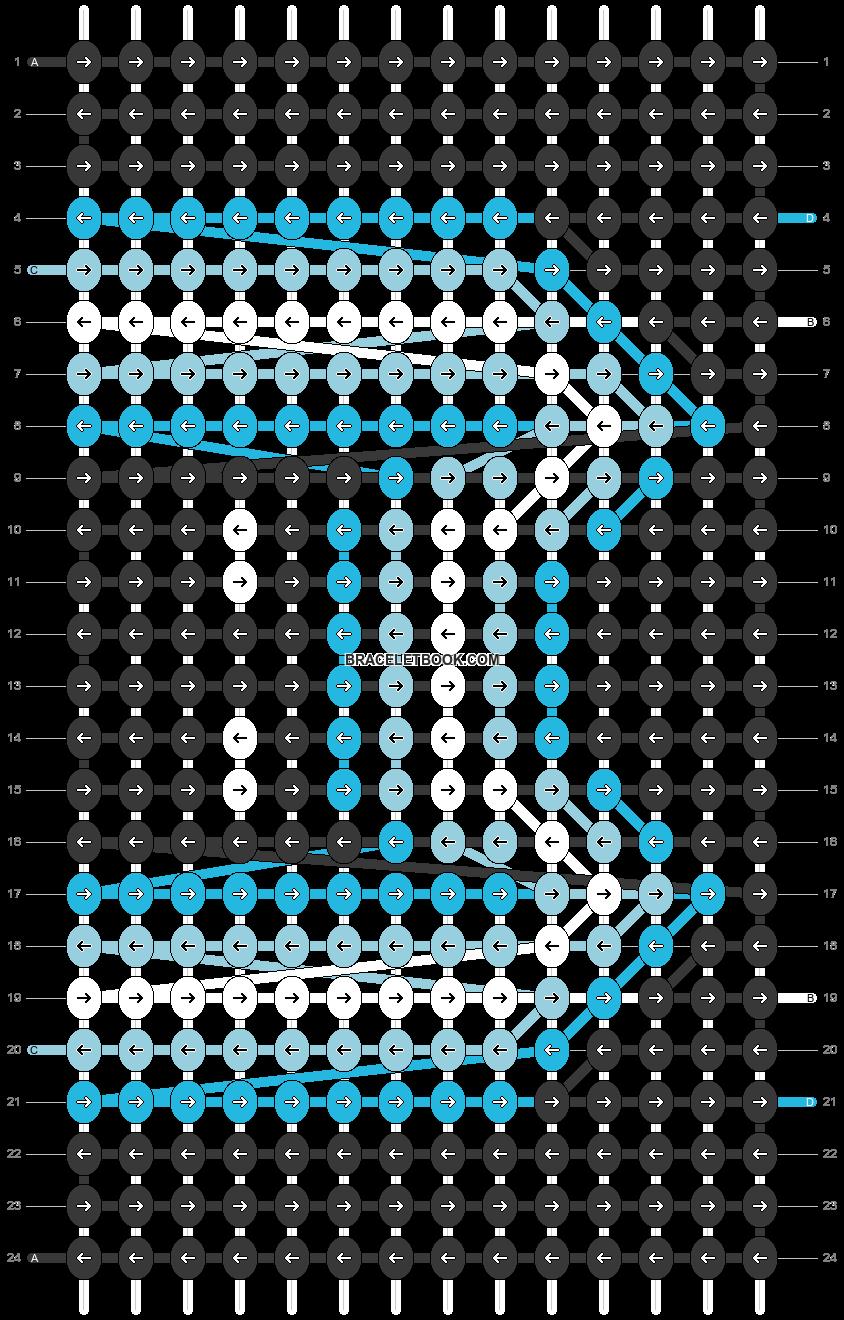 Alpha pattern #82105 pattern