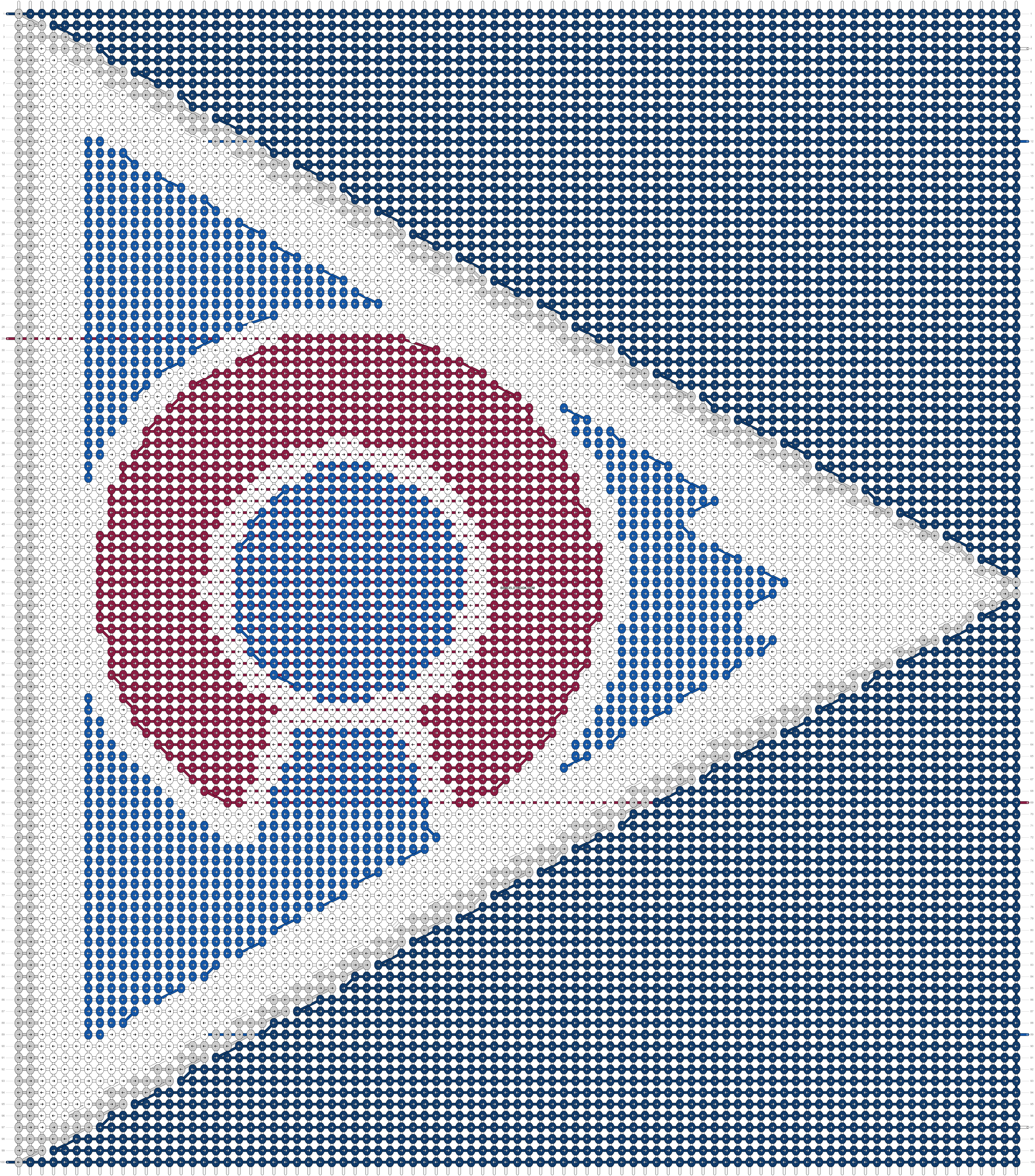 Alpha pattern #82161 pattern