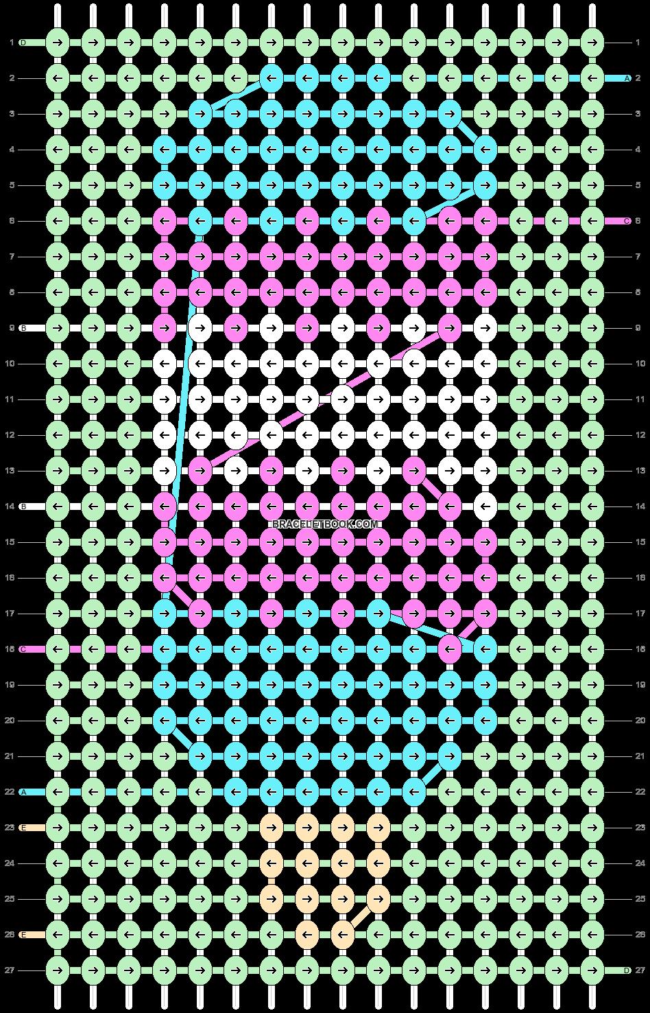 Alpha pattern #82164 pattern