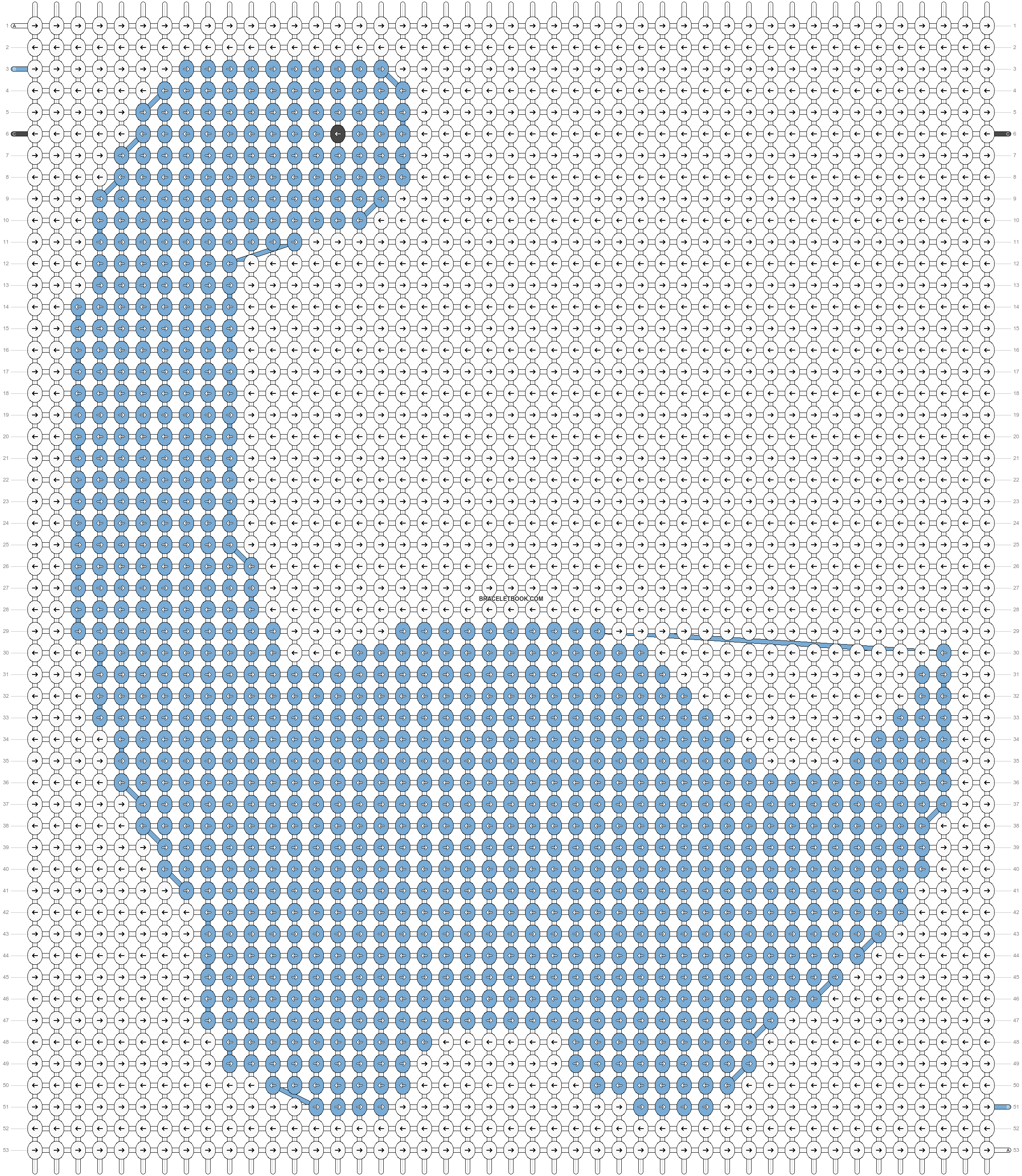 Alpha pattern #82190 pattern