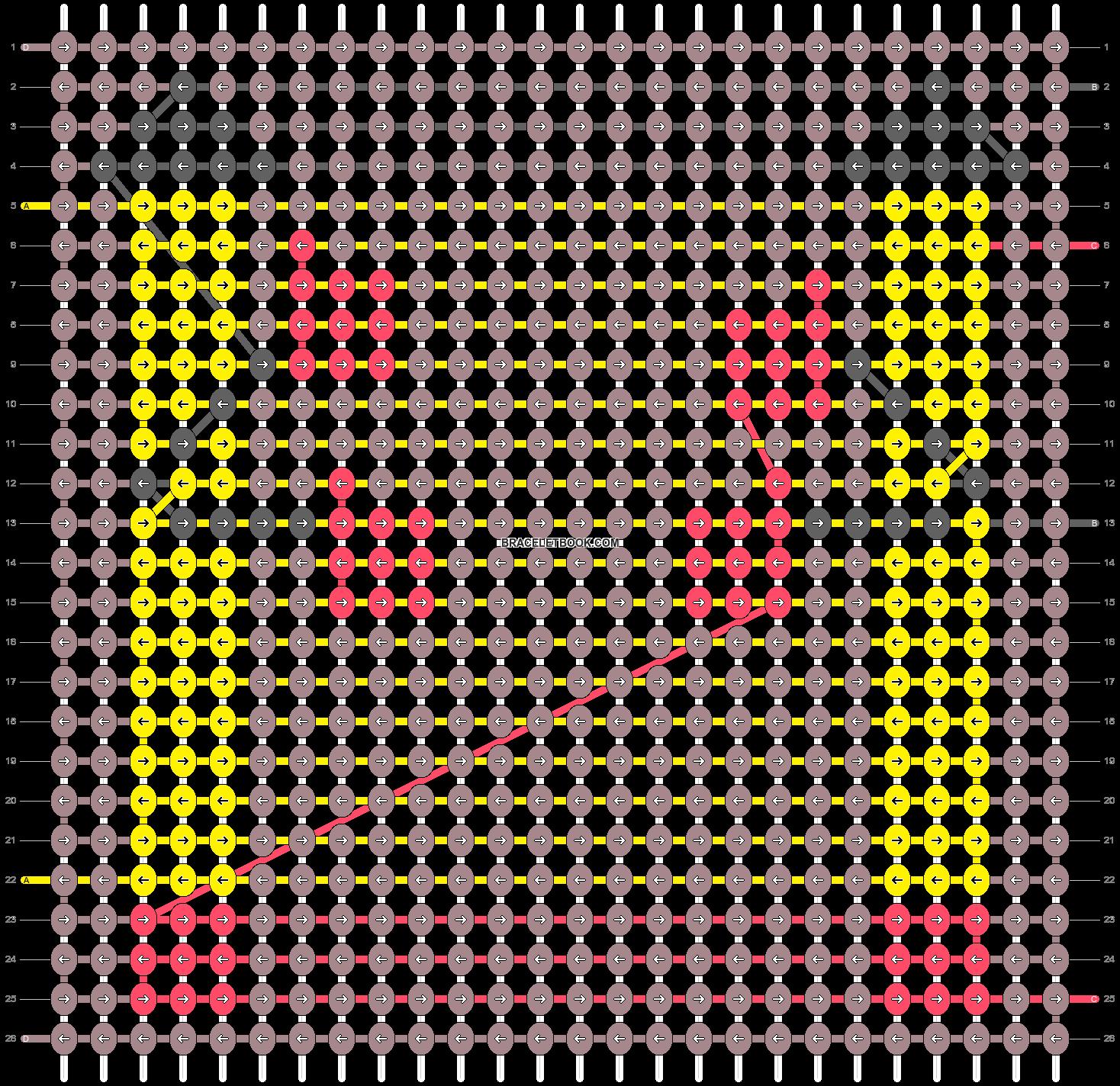 Alpha pattern #82210 pattern