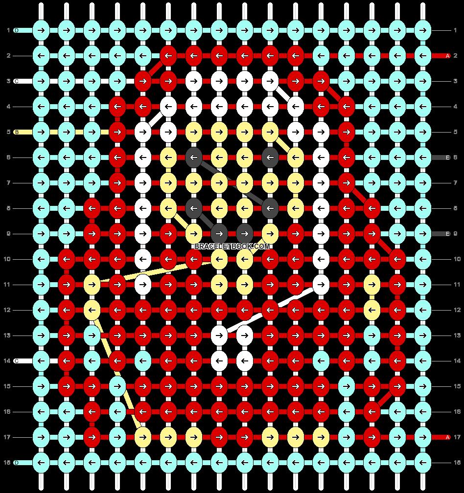 Alpha pattern #82226 pattern
