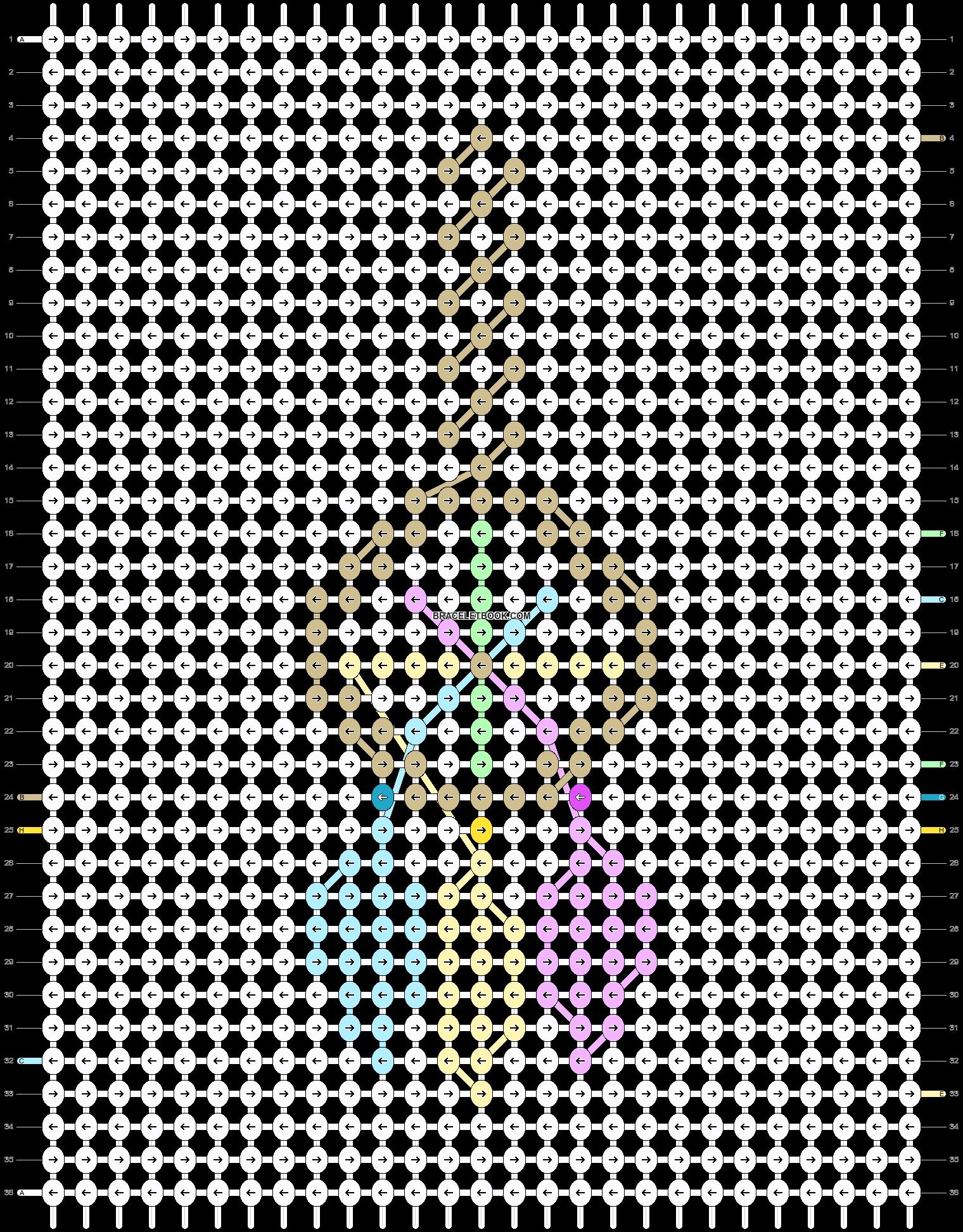 Alpha pattern #82257 pattern