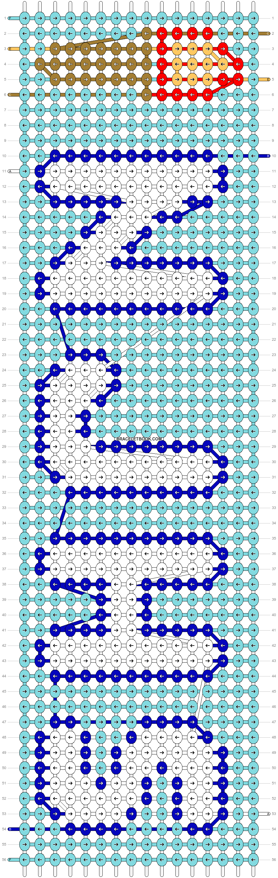 Alpha pattern #82260 pattern