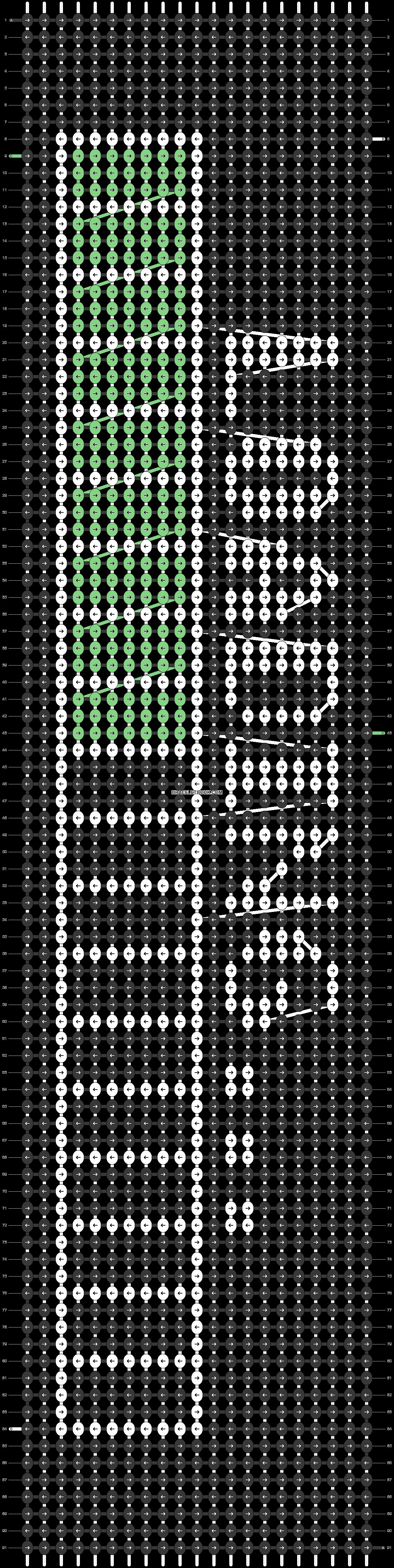 Alpha pattern #82298 pattern