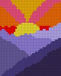 Alpha pattern #82306
