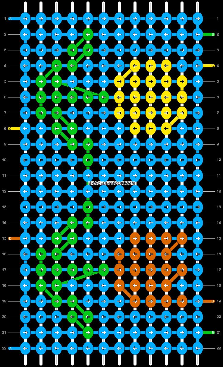 Alpha pattern #82307 pattern