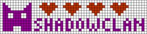 Alpha pattern #82318