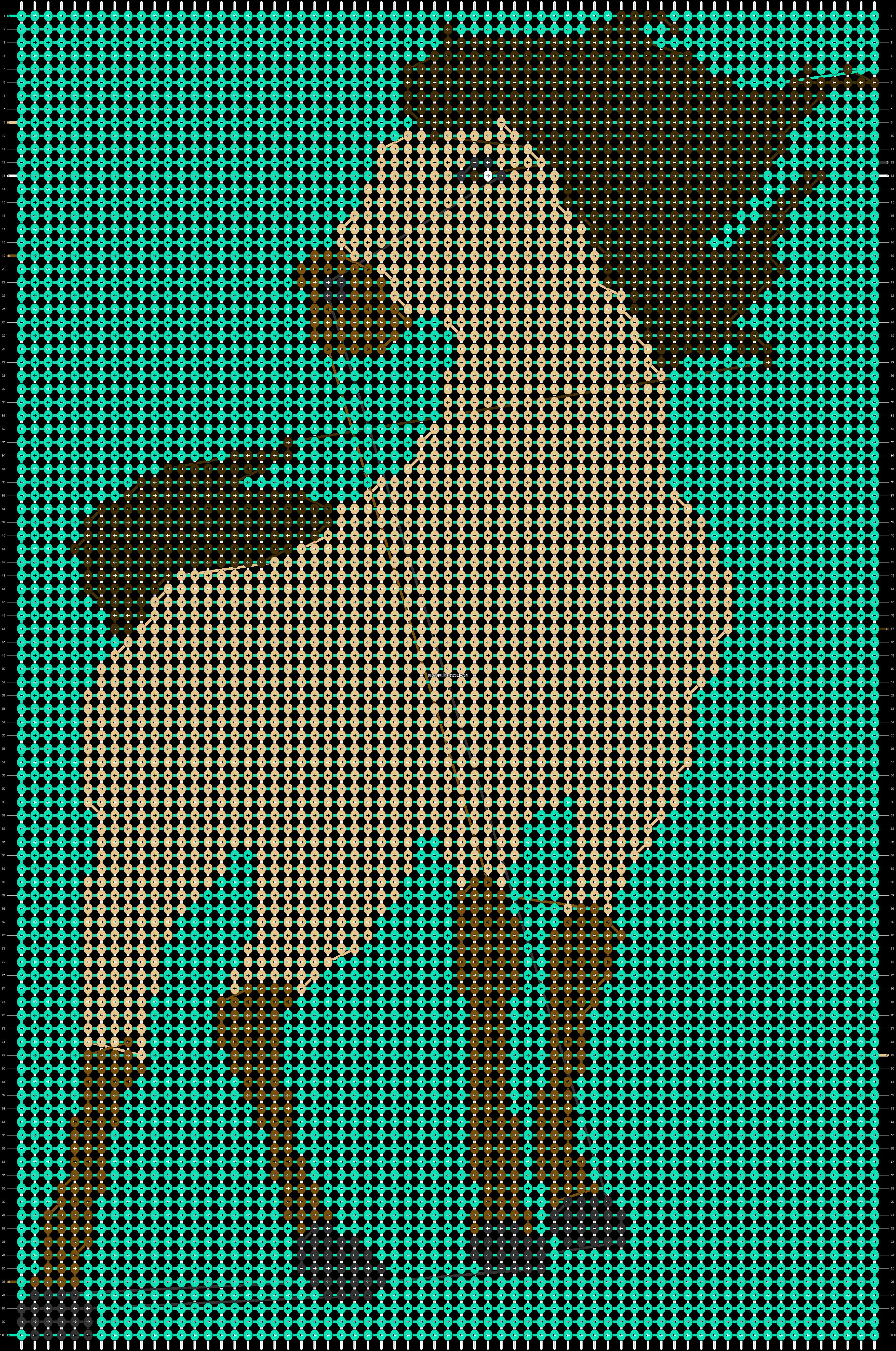 Alpha pattern #82326 pattern