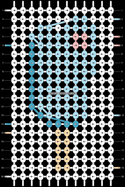 Alpha pattern #82381 pattern