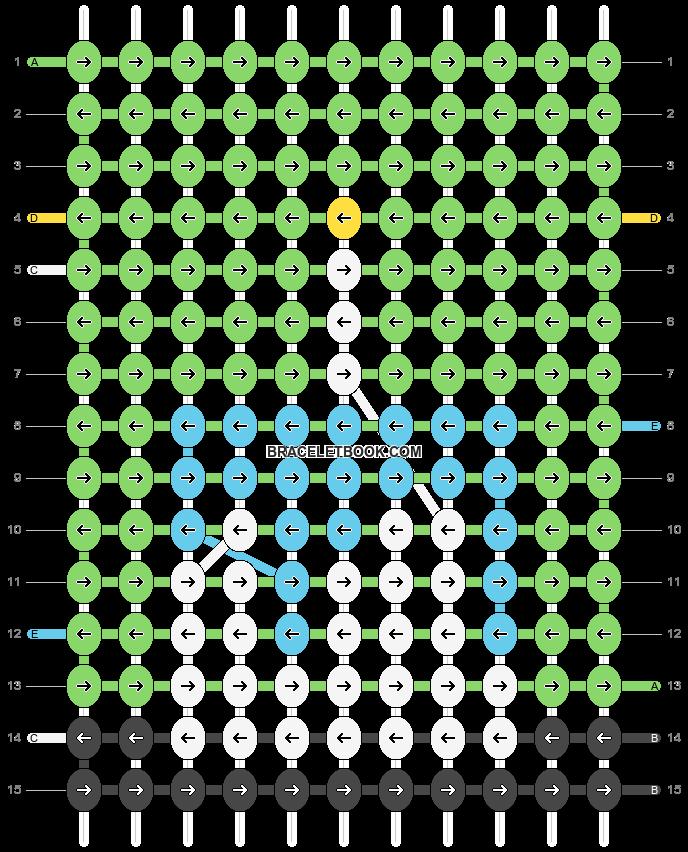 Alpha pattern #82447 pattern