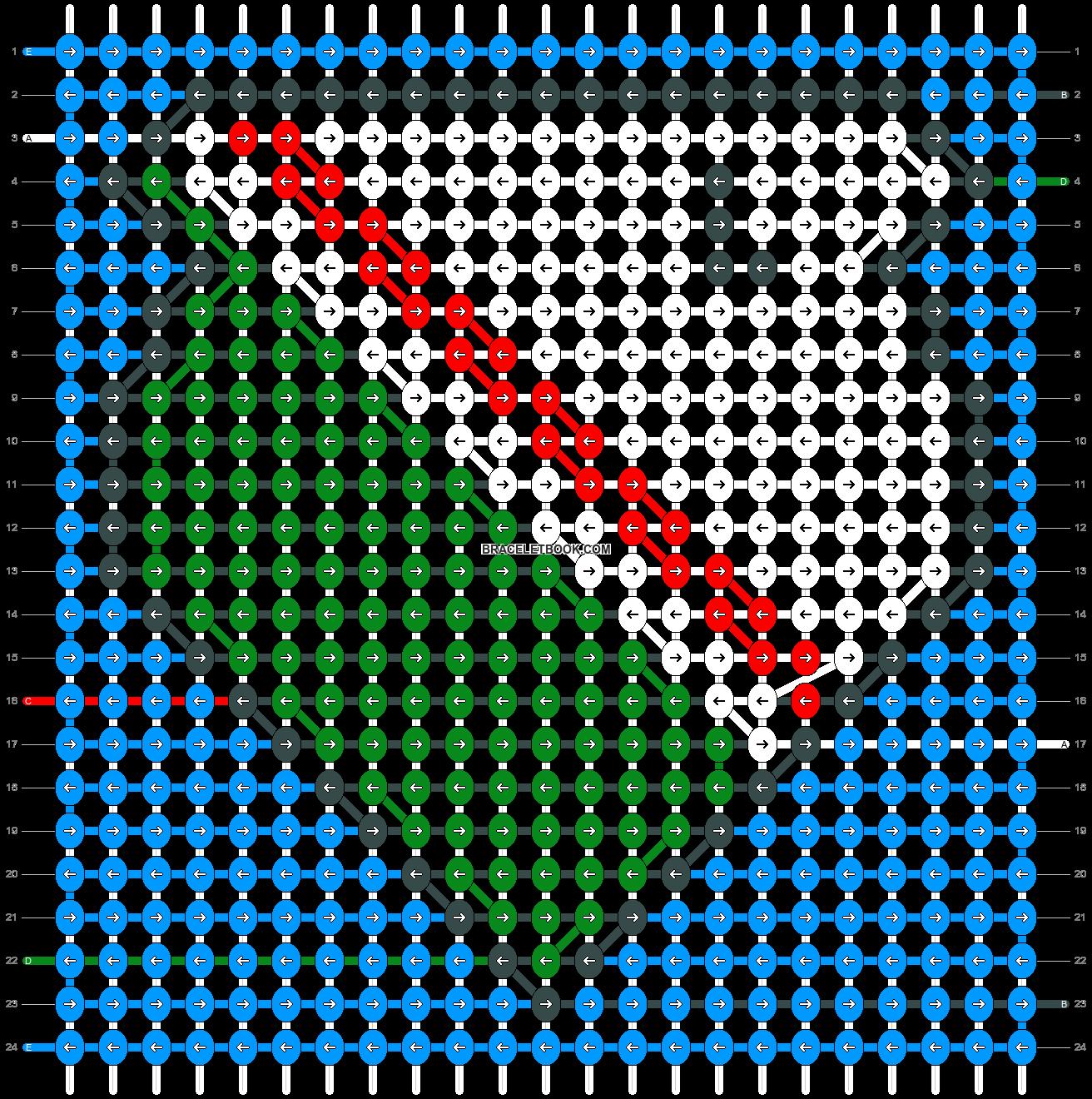 Alpha pattern #82456 pattern