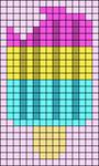 Alpha pattern #82462