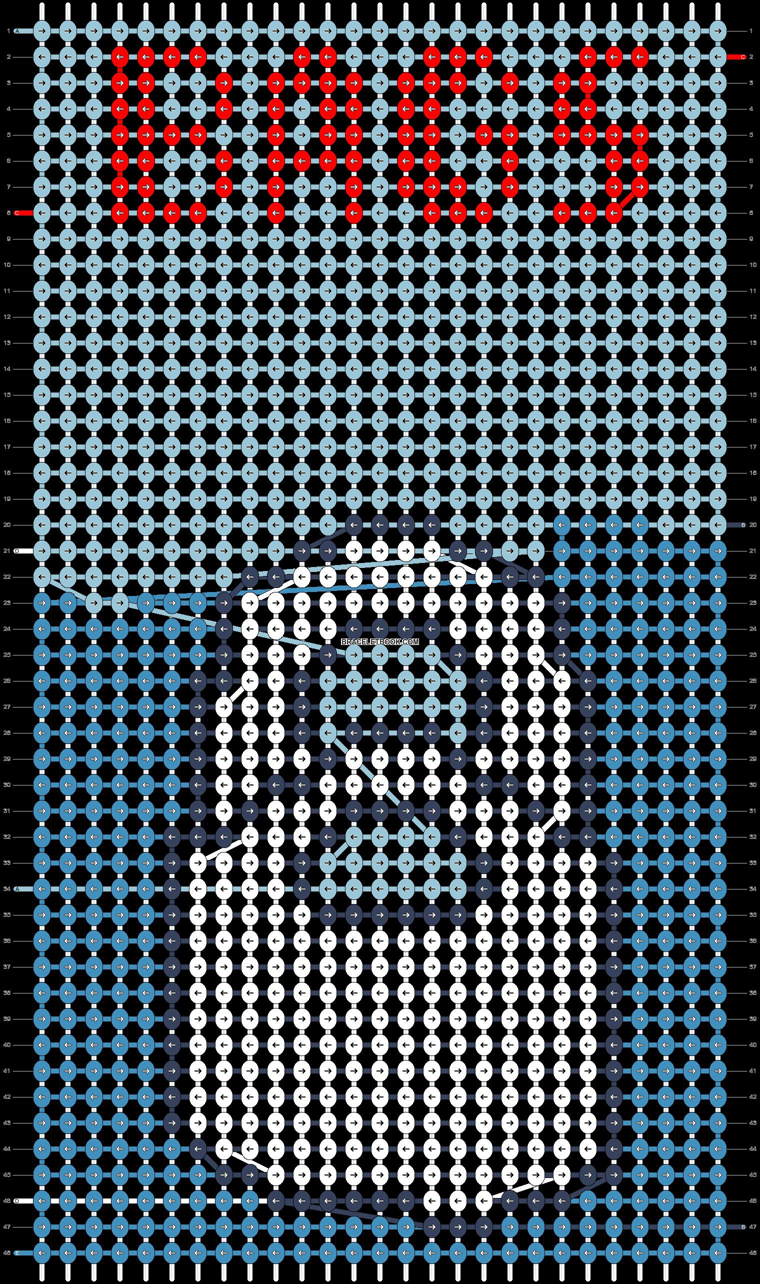 Alpha pattern #82469 pattern