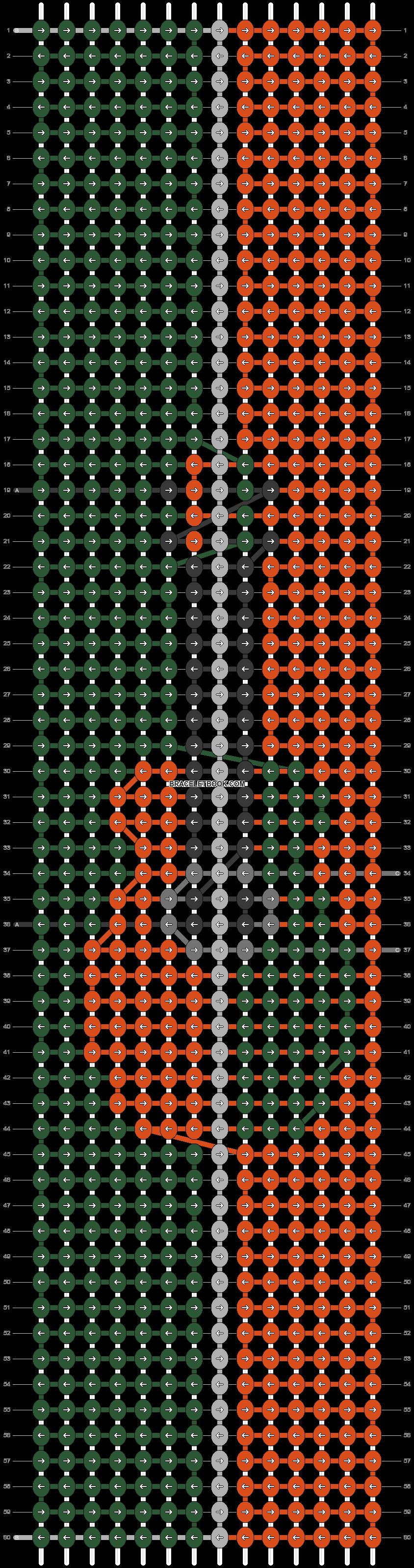 Alpha pattern #82619 pattern