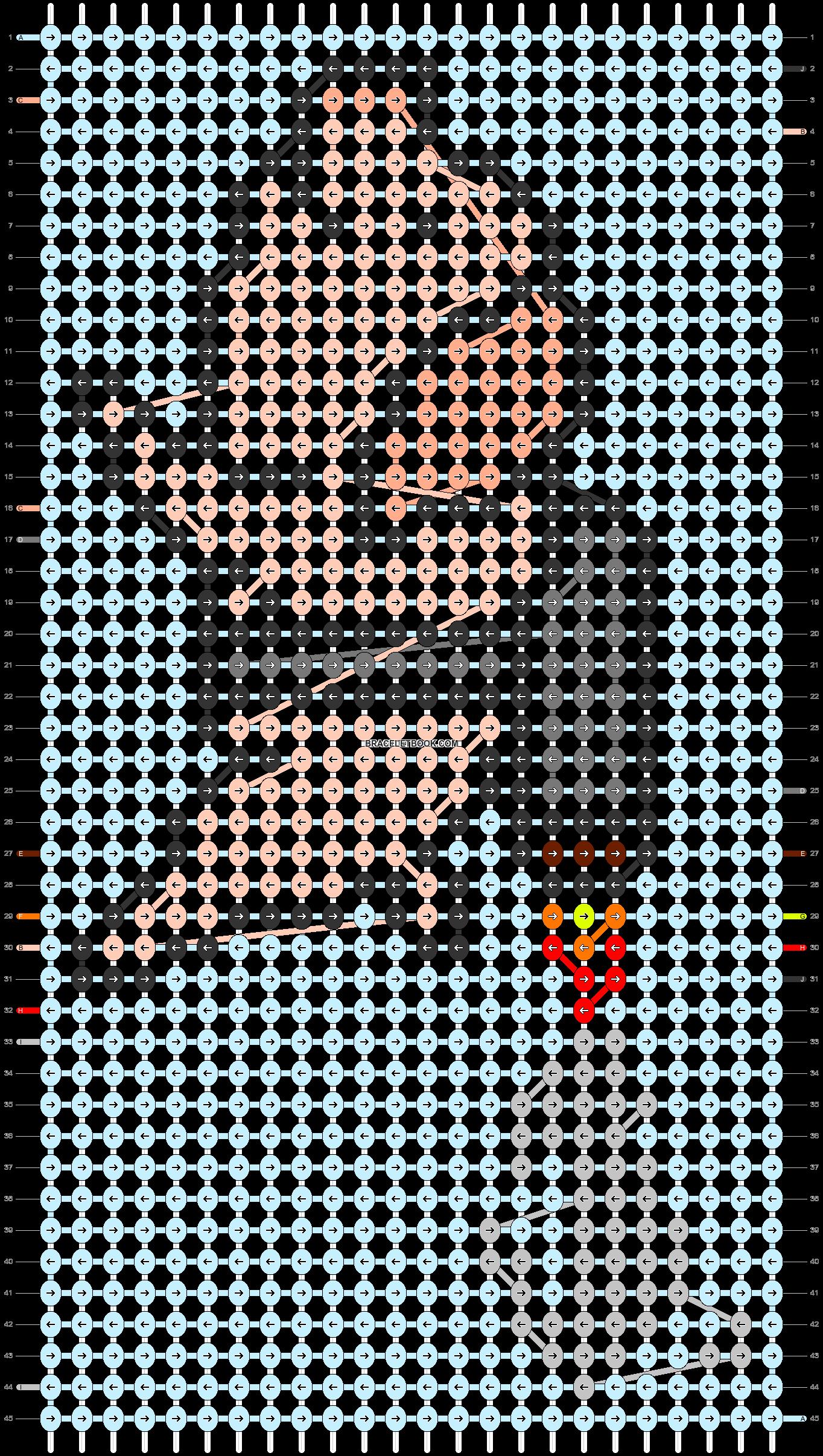 Alpha pattern #82641 pattern