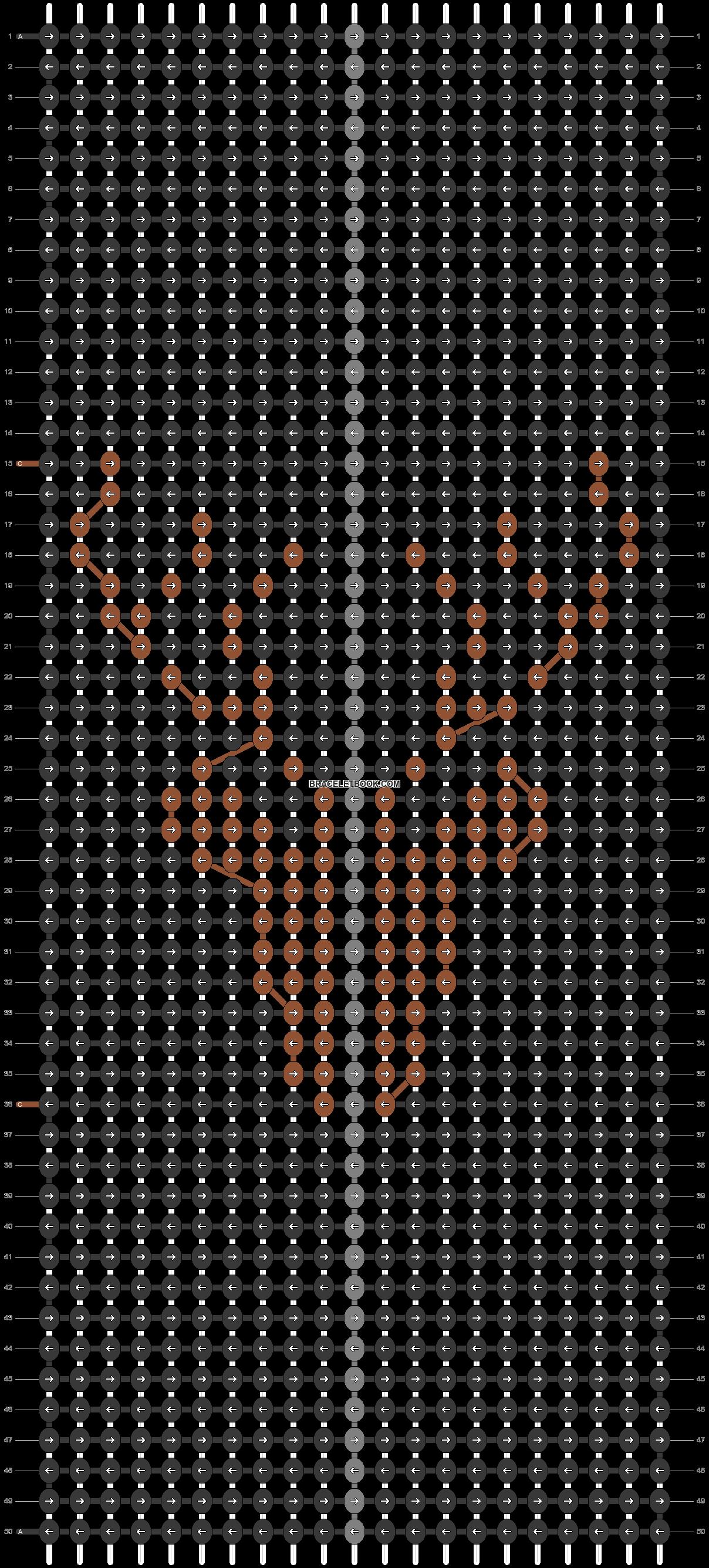 Alpha pattern #82664 pattern