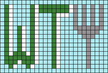 Alpha pattern #82670