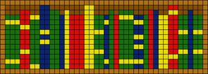 Alpha pattern #82673
