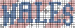 Alpha pattern #82688