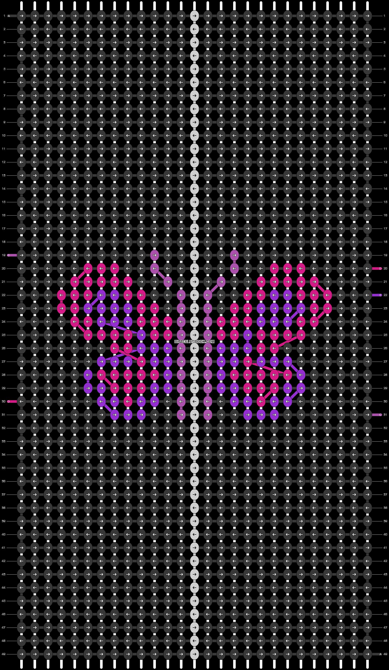 Alpha pattern #82693 pattern