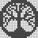 Alpha pattern #82716