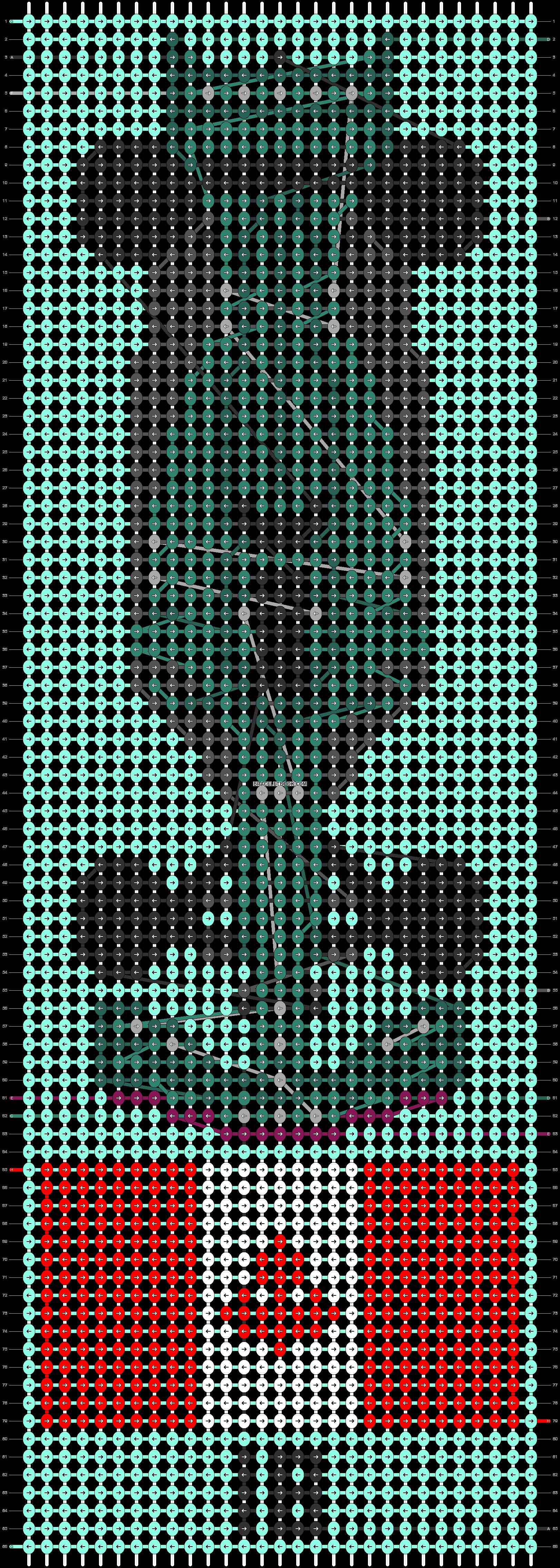 Alpha pattern #82724 pattern