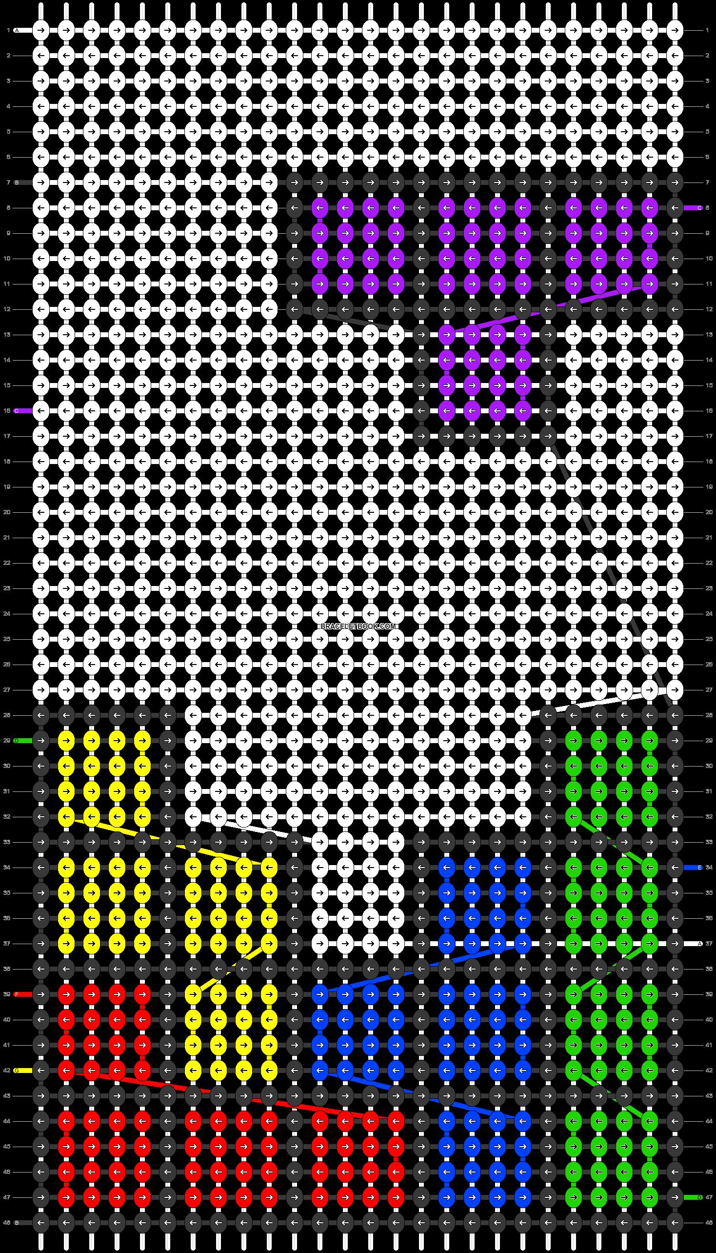 Alpha pattern #82775 pattern