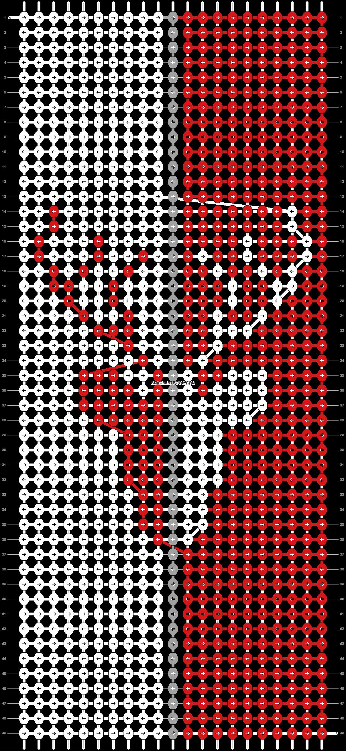 Alpha pattern #82798 pattern