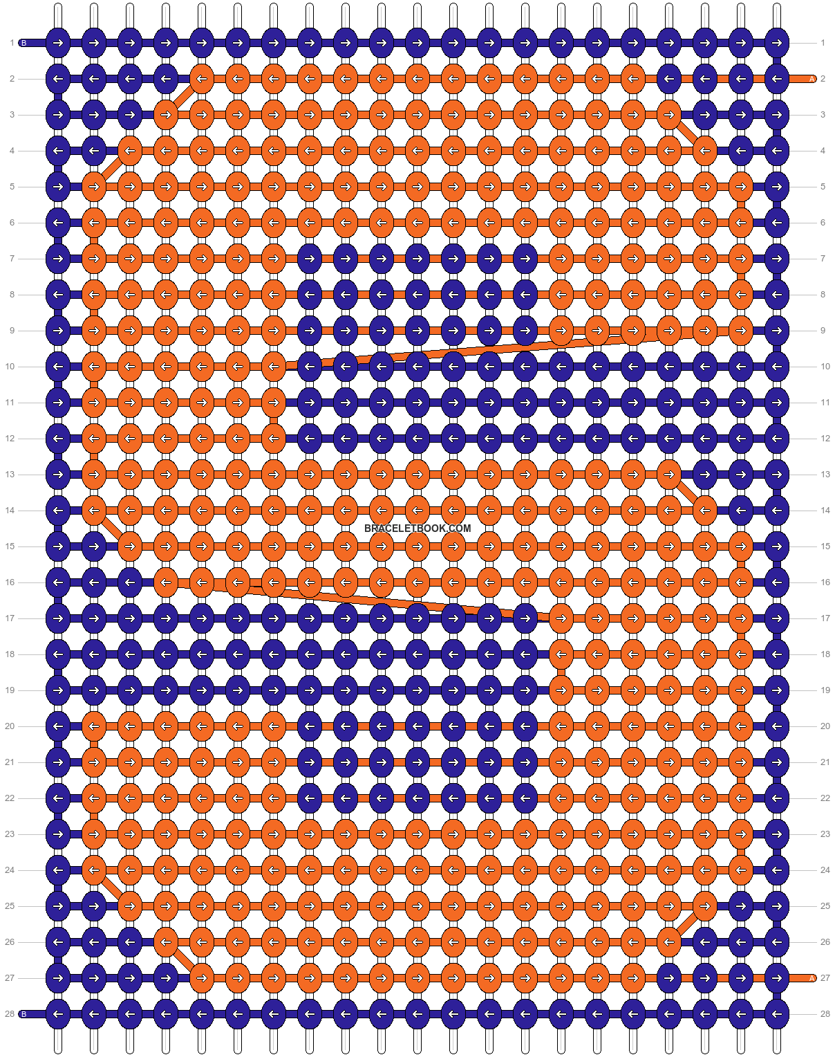 Alpha pattern #82874 pattern