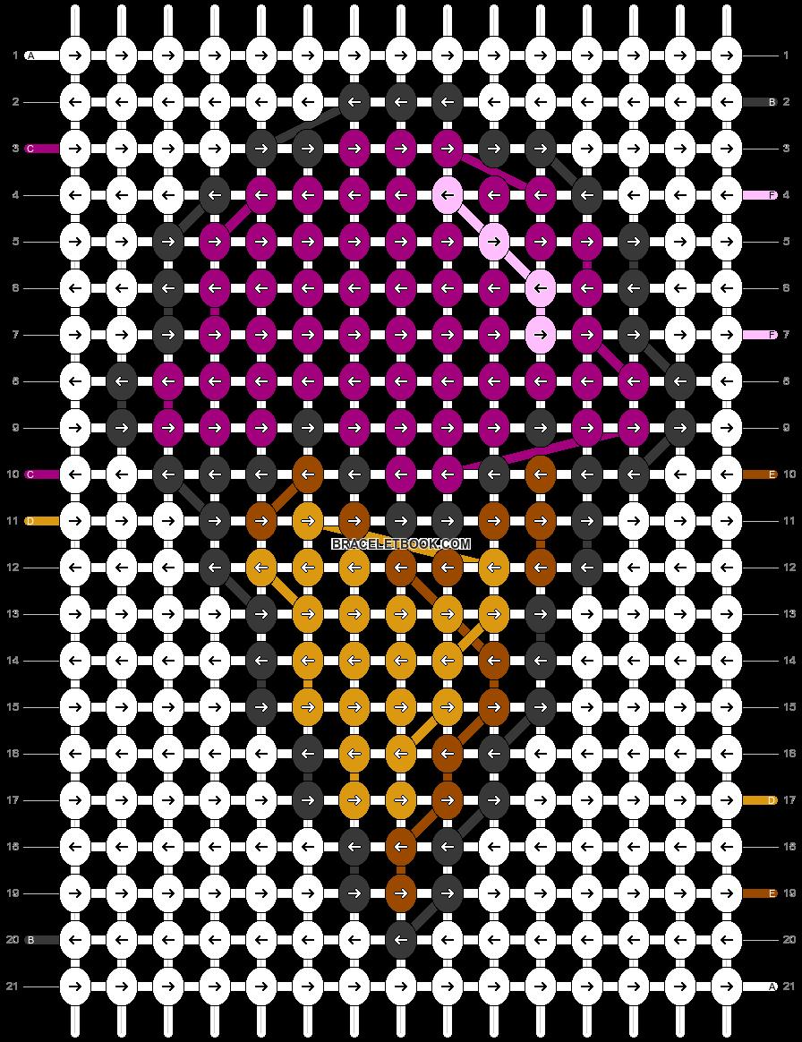Alpha pattern #82913 pattern