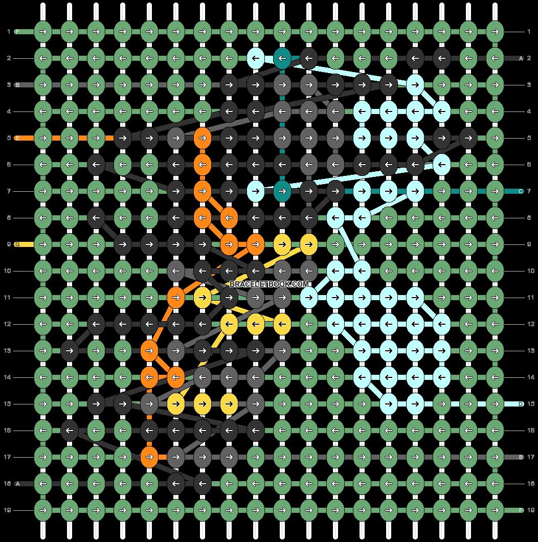 Alpha pattern #82914 pattern