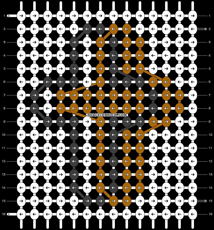 Alpha pattern #83019 pattern