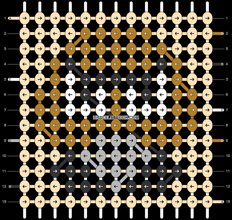 Alpha pattern #83066 pattern